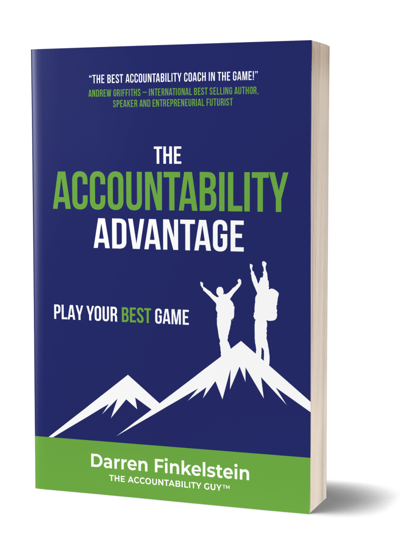 The Accountability Advantage Cover - My Books